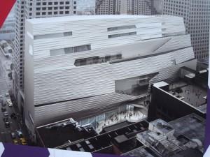そのホテルの完成予想画である。